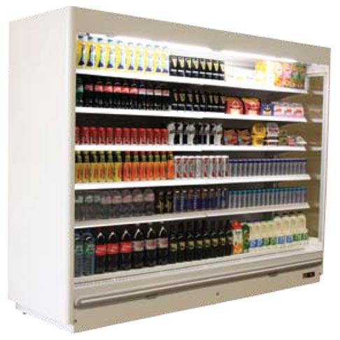 prague maxi slim multi deck chiller display cabinet
