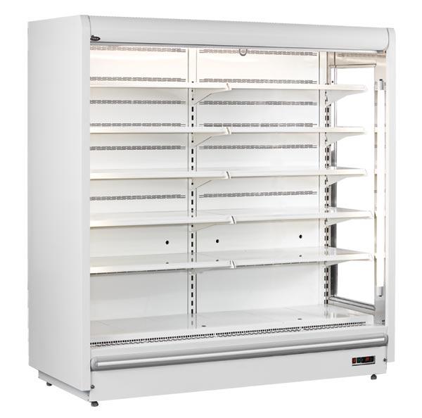 prague super slim multi deck chiller display cabinet