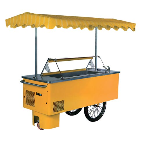 riksha ice cream server stall