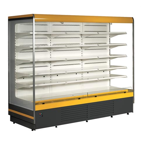 ryga multi deck refrigerated display cabinet