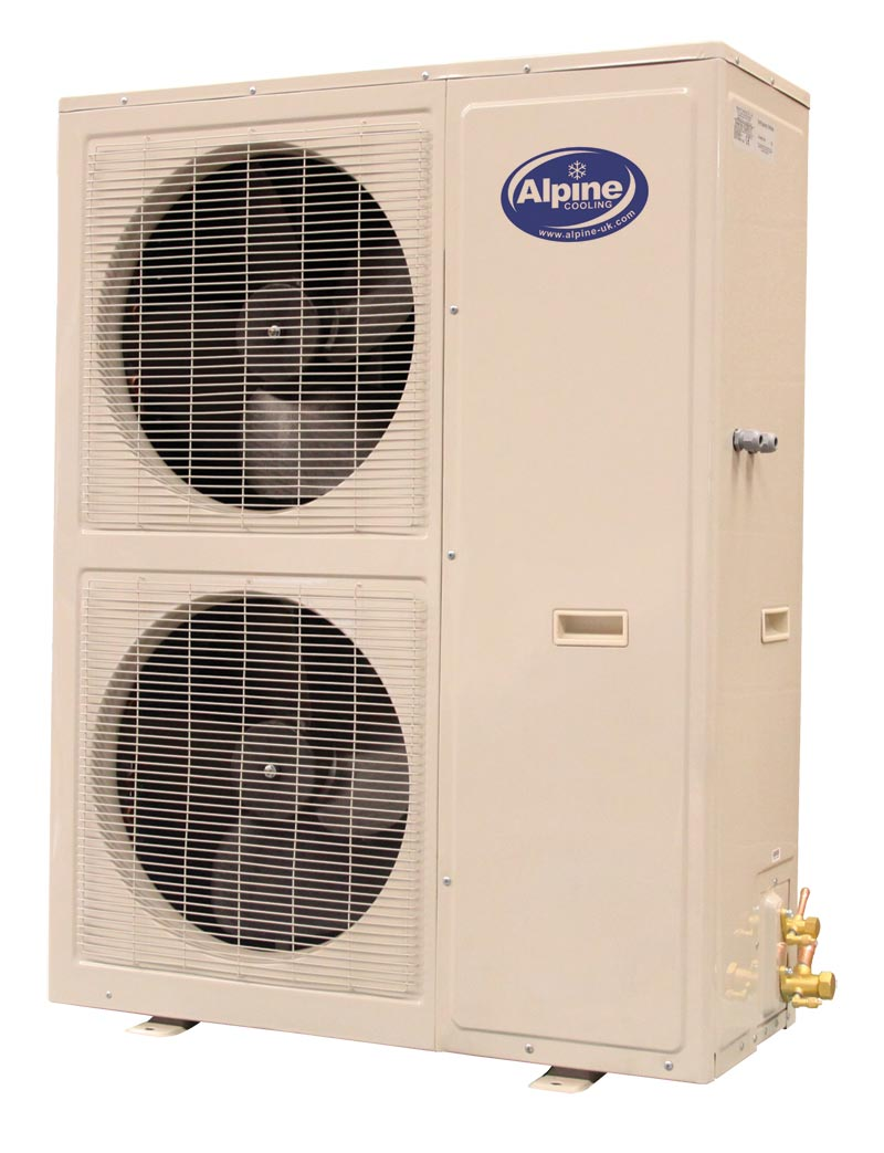alpine twin fan air con