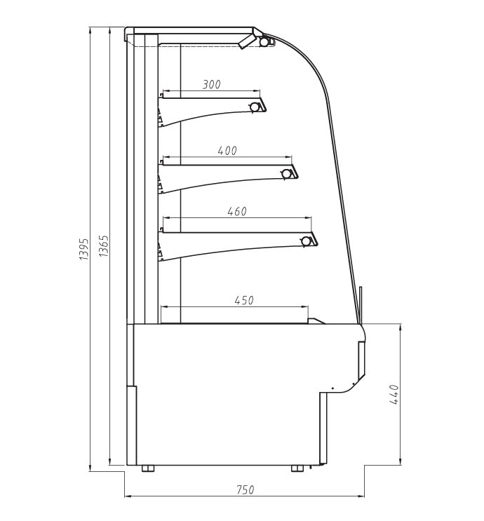 genoa-curved-front-patisserie-technical-drawing